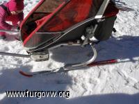 Chariot ski