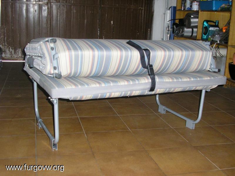 cama vw caddy tramper. Black Bedroom Furniture Sets. Home Design Ideas