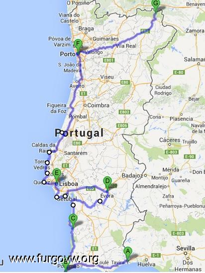 mapa costa portugal Mapa Costa Portugal | Younglaunch mapa costa portugal