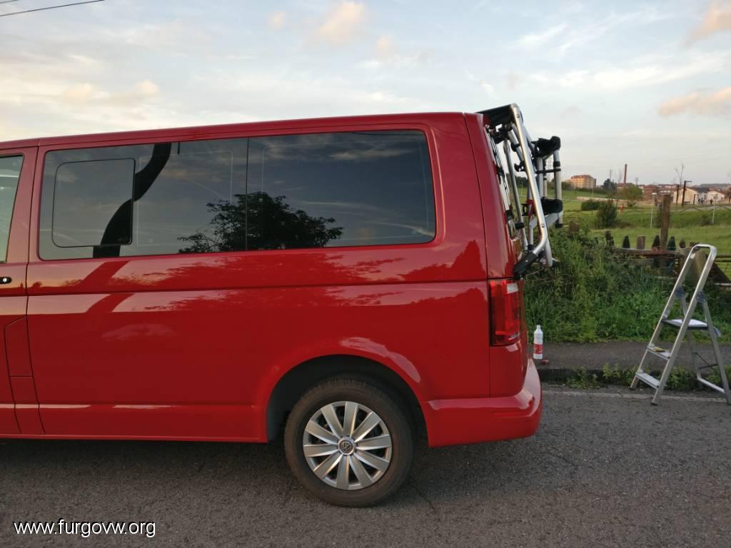 Portabicicletas Volkswagen T6/para port/ón 7E0071104