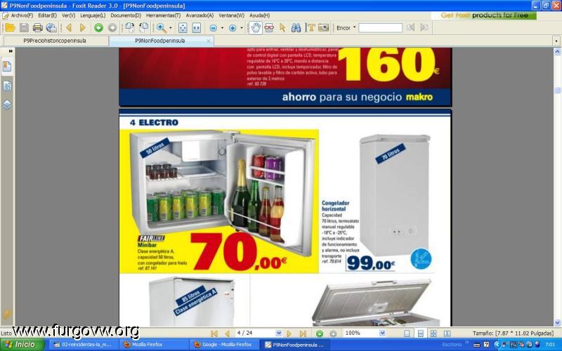 Makro neveras precios un blog sobre bienes inmuebles - Precios electrodomesticos alcampo ...