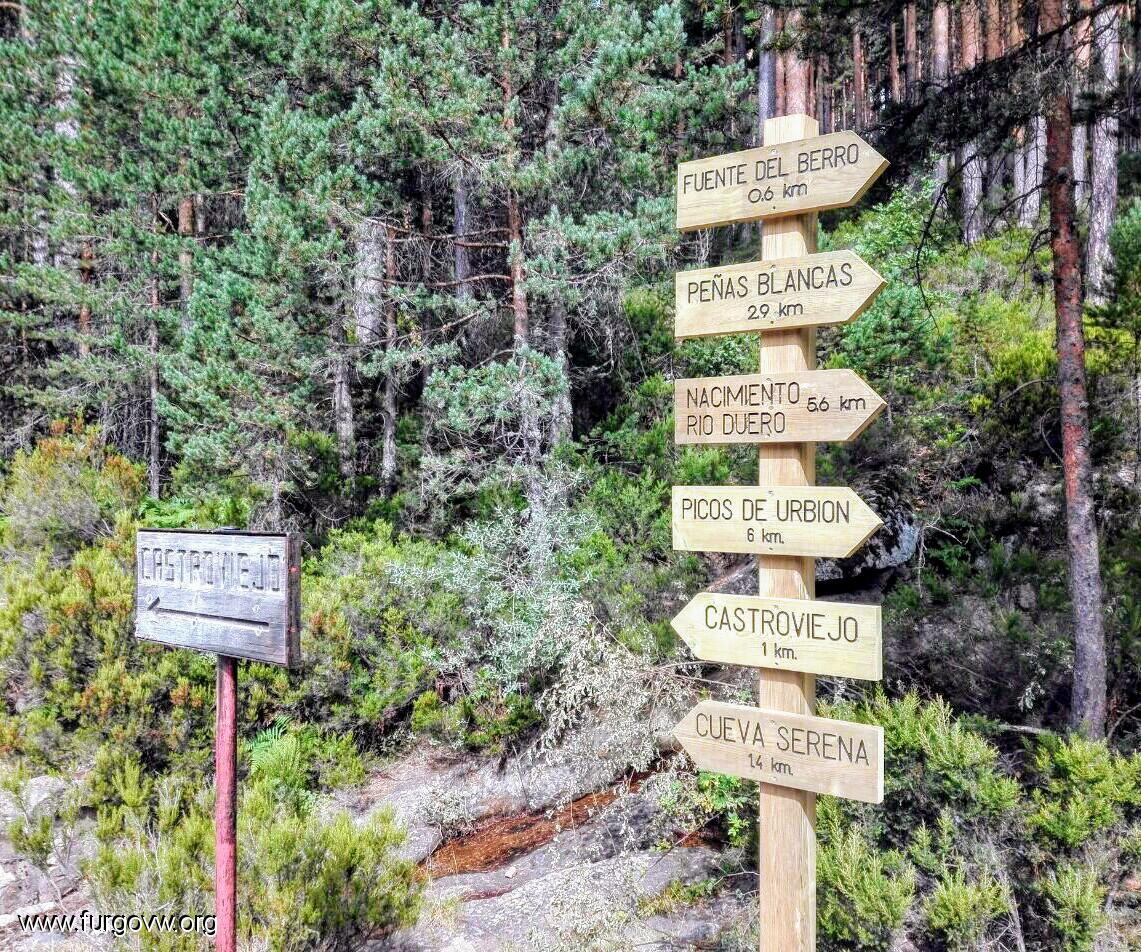 Soria Furgoperfecto Refugio De La Fuente Del Berro Duruelo De  # Muebles Duruelo De La Sierra