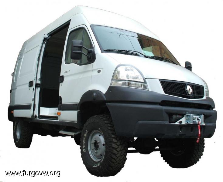 Camper Renault Mascott 4x4