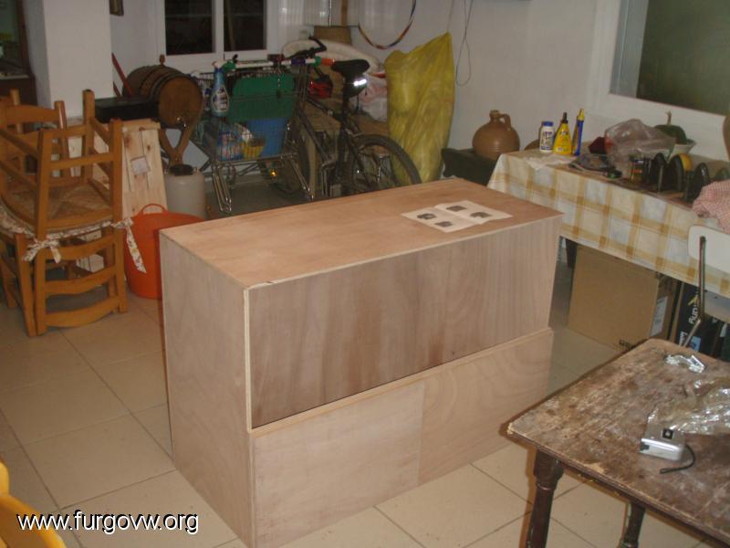 Mueble cocina y almacenaje vw t5 for Galeria del mueble