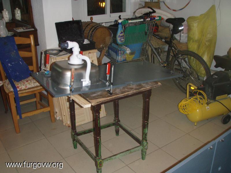 Mueble cocina y almacenaje vw t5 - Mueble almacenaje cocina ...