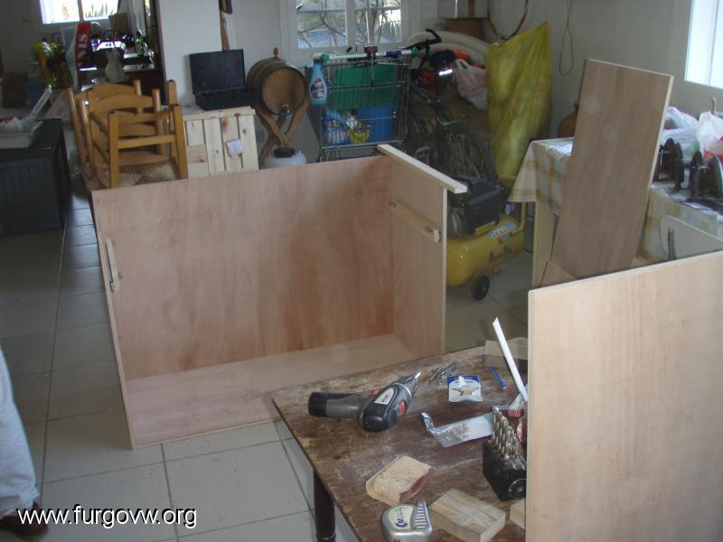 Mueble cocina y almacenaje vw t5 - Galeria comercial del mueble arganda ...