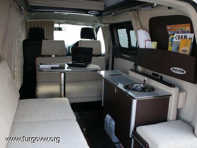 nv200 camper existe. Black Bedroom Furniture Sets. Home Design Ideas