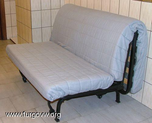 Vendo sofacama ikea modificado para t5 o similar nuevo for Fundas sofa carrefour