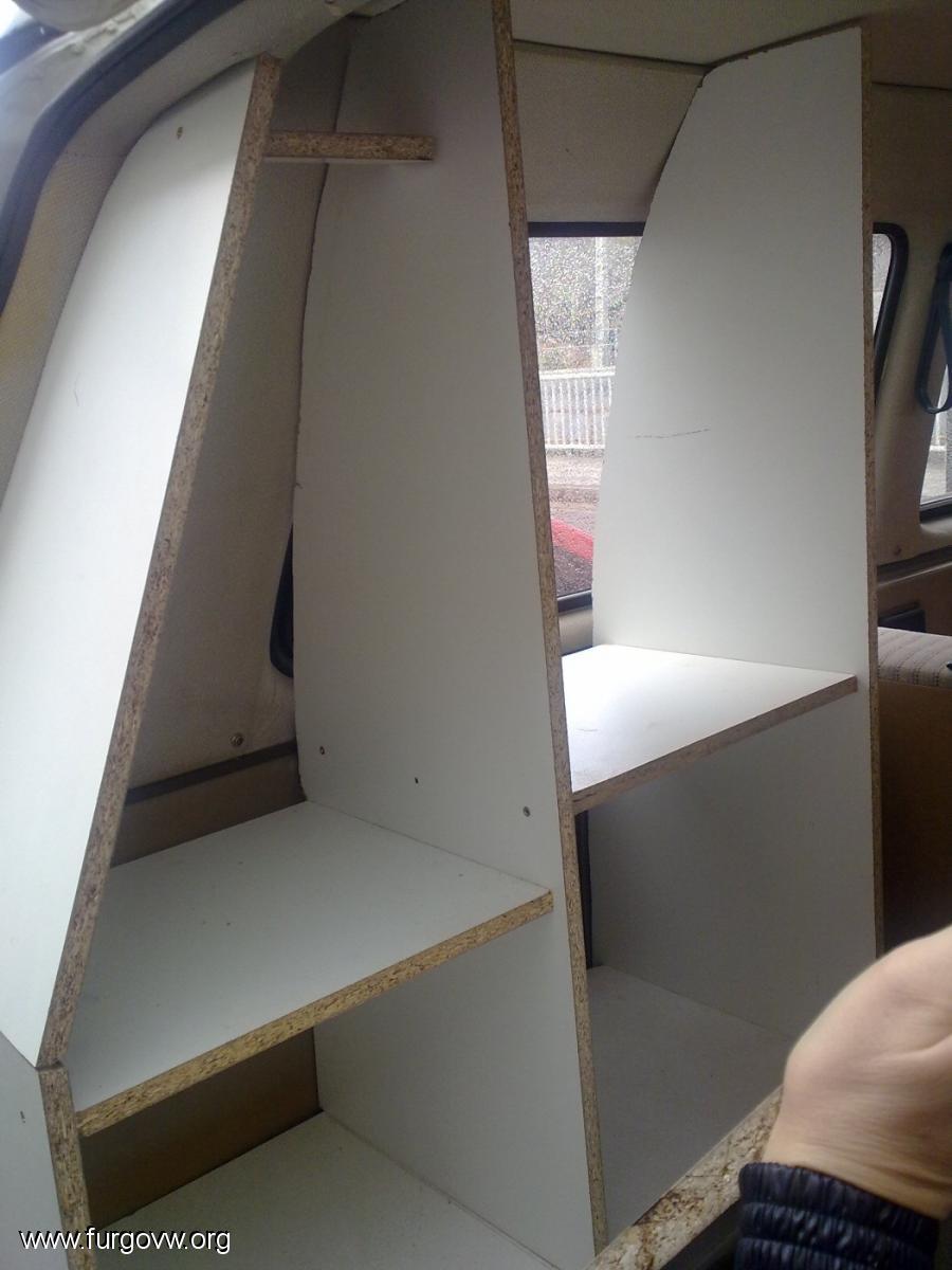 Camperizaci N Made Feita Na Casa Vw T3 Multivan  # Muebles Westfalia