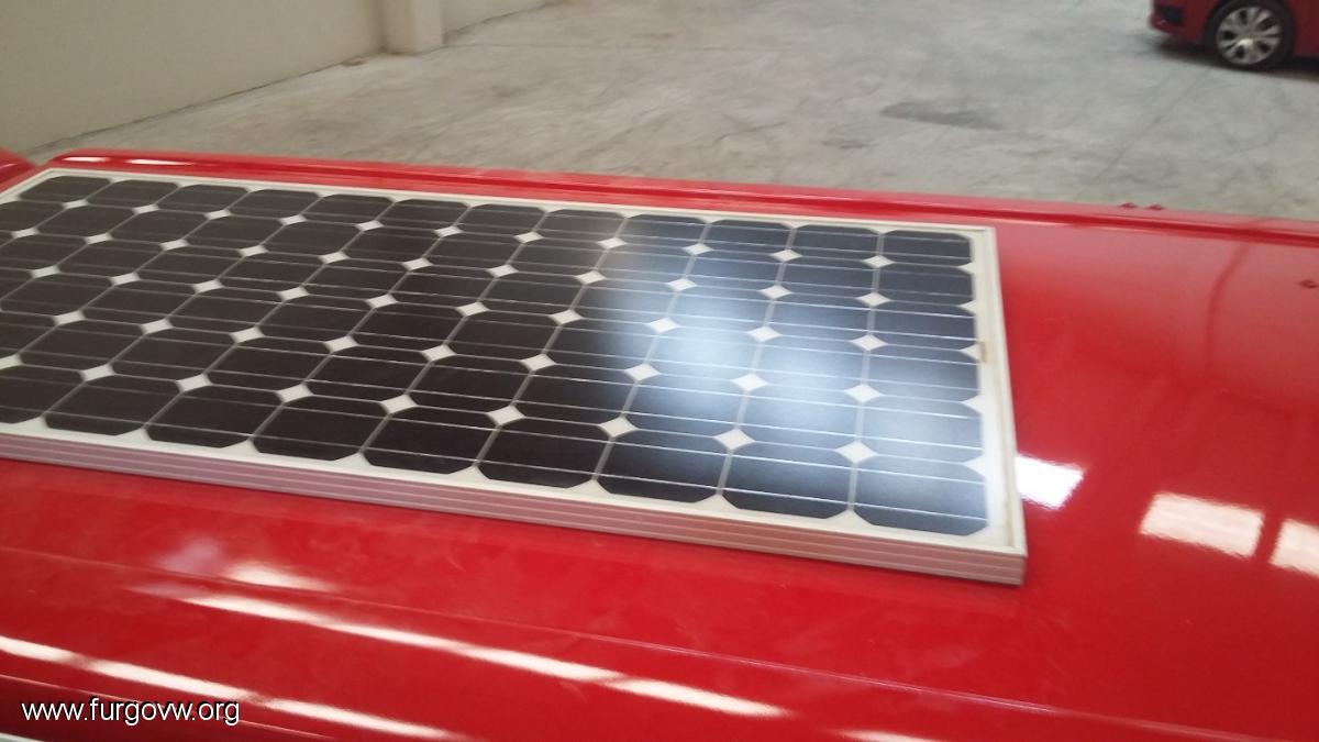 Tranformar placa solar de 4cm en placa solar plana de 5 mm
