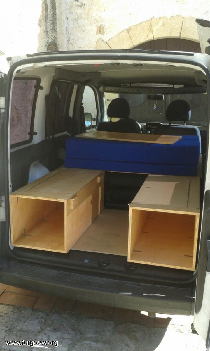 Ford Camper Van >> [Fiat Doblò 1.9D '03] La Renauenca - Os presento mi ...