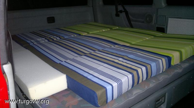 Espuma para cama