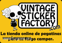 logo vintage sticker factory