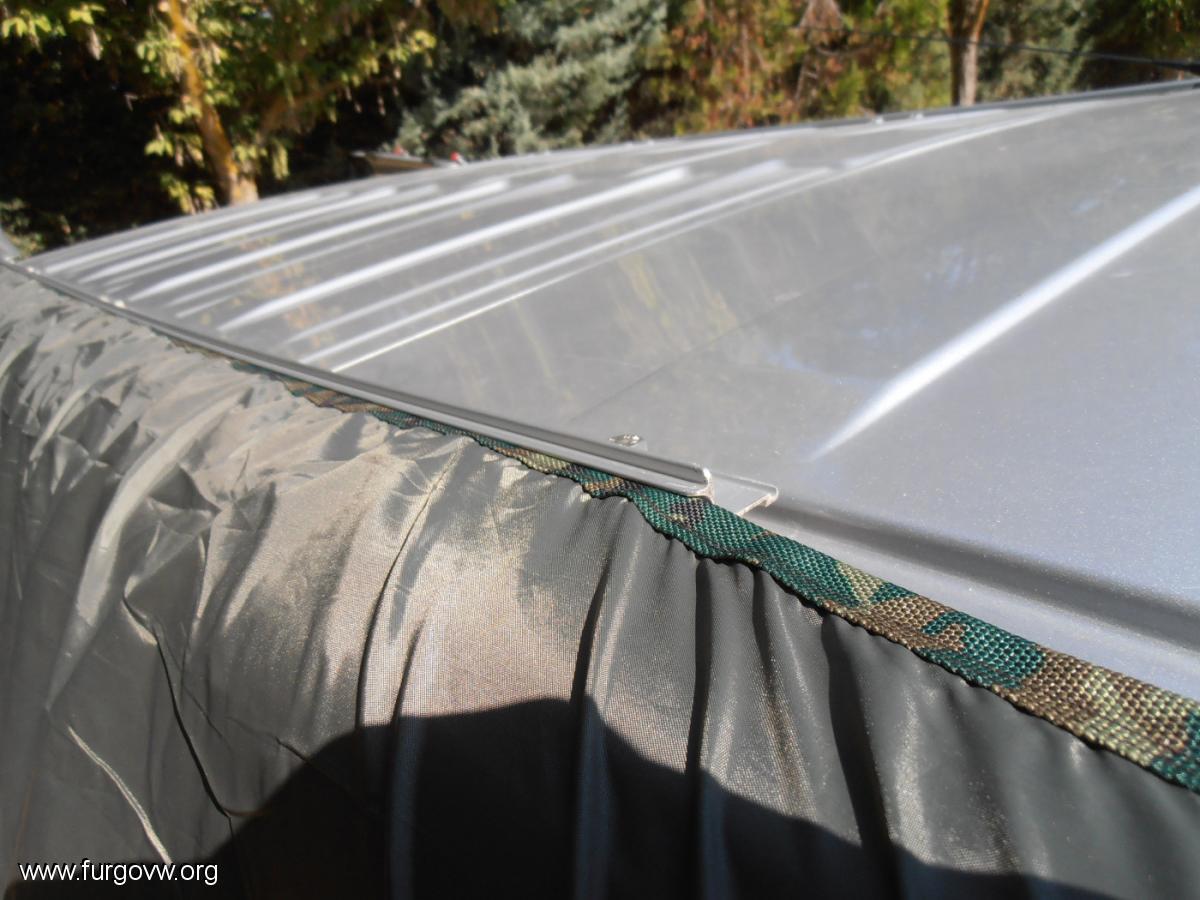 Toldo tarp de decathlon en trafic vivaro primastar for Repuestos para toldos de aluminio