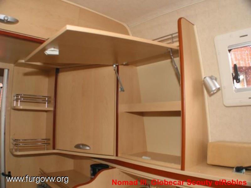 Vendida globecar scouty seguro todo riesgo gratis - Muebles para camperizar furgonetas ...