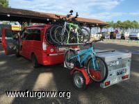 Remolque con bici