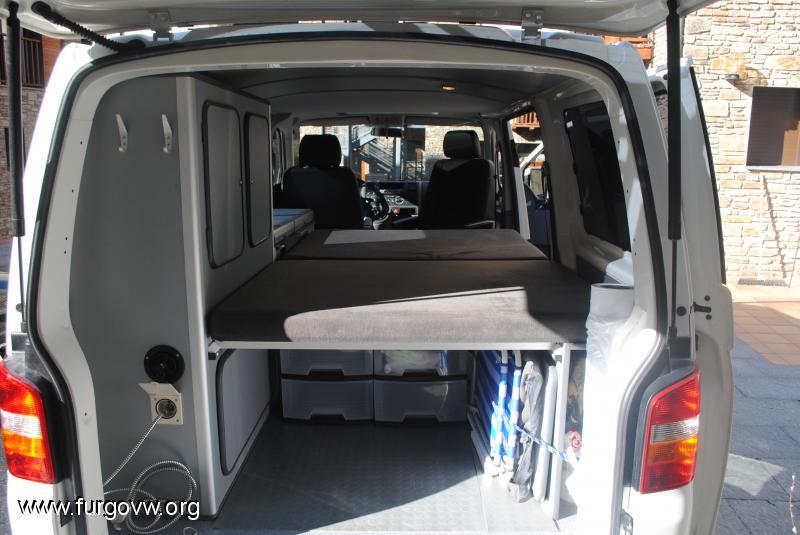 Medidas planos mueble lateral y muebles de bricos vw y - Muebles para camperizar furgonetas ...