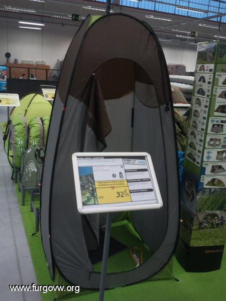 Tienda ducha 2 seconds del decathlon - Duchas portatiles camping ...