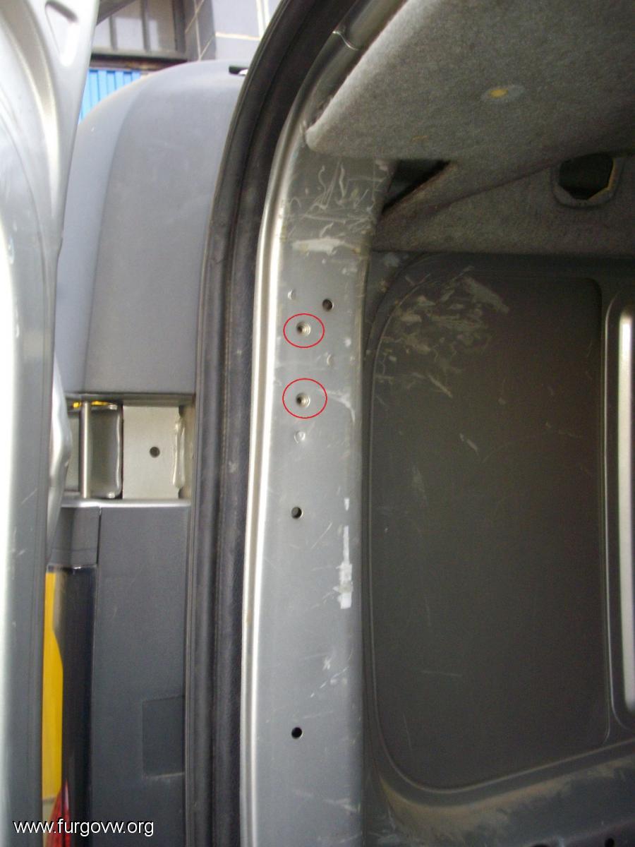 Cambiar puertas traseras por porton for Cambiar puertas