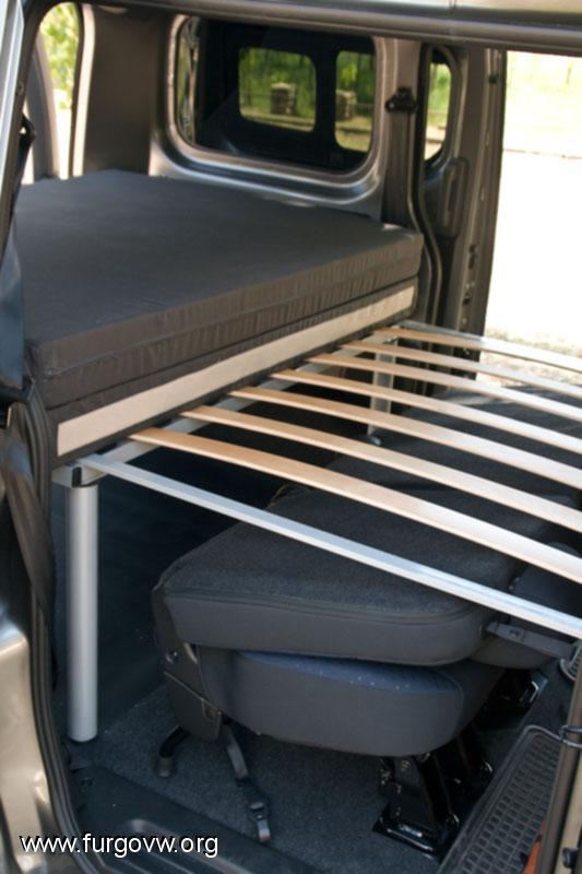 Nissan nv200 cama a medida for Medidas colchon cama sencilla