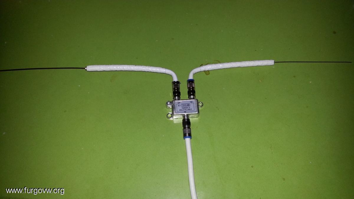 Antena tdt casera por 1 euro funciona a la perfecci n que no quede en el olvido - Antena tdt interior casera ...