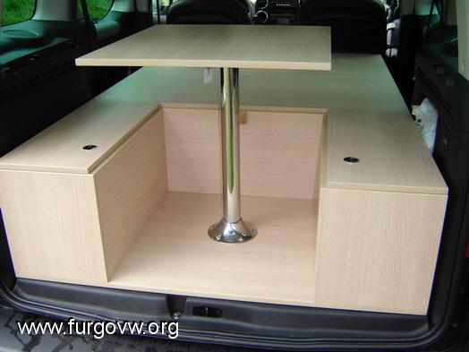 Preparar veo que le queda poco espacio alguna idea - Muebles para camperizar furgonetas ...