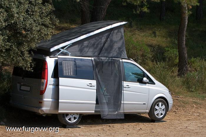 Galeria de fotos de furgonetas camper campervan picture - Mosquitera casera ...