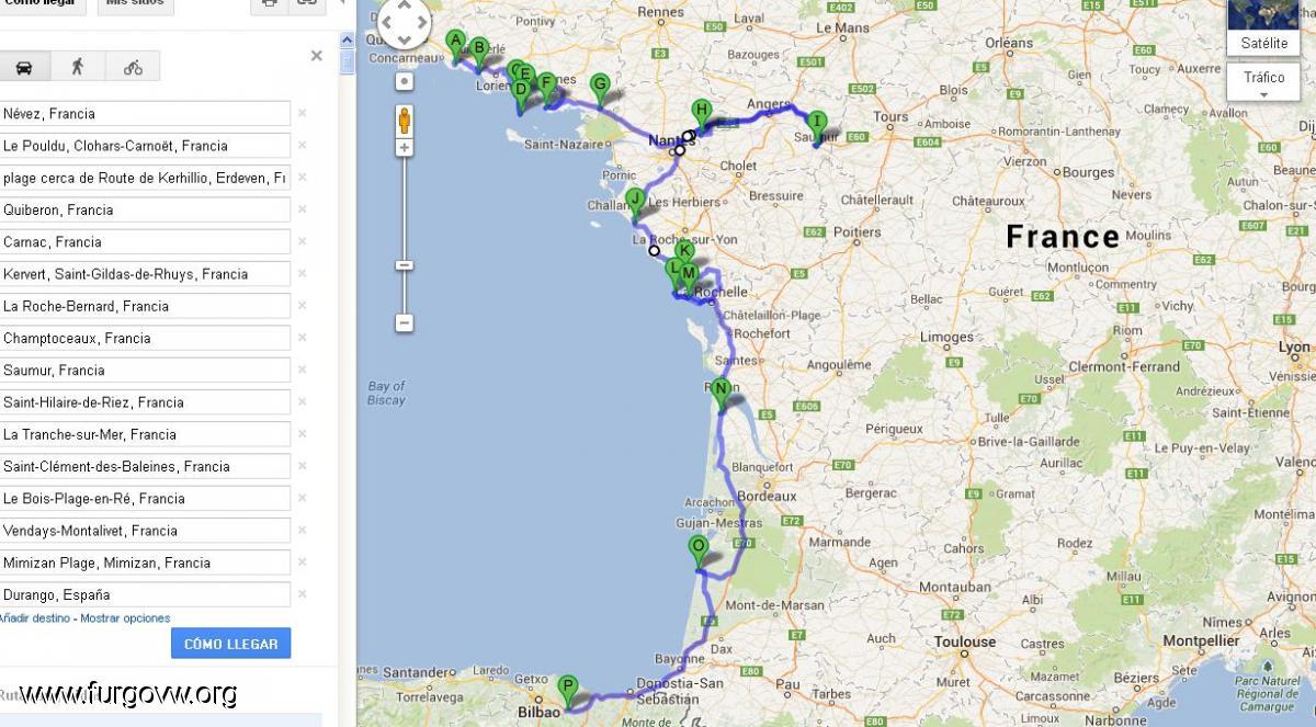 Costa Atlantica Francesa 5000 Km En La Casa De Hojalata