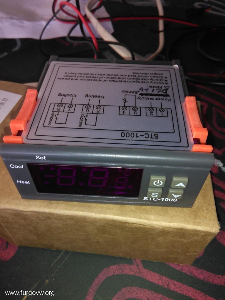 Instalaci n termostato digital calefacci n tipo webasto - Como encender la calefaccion ...
