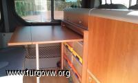 Mueble para Trafic, Nissan y Opel