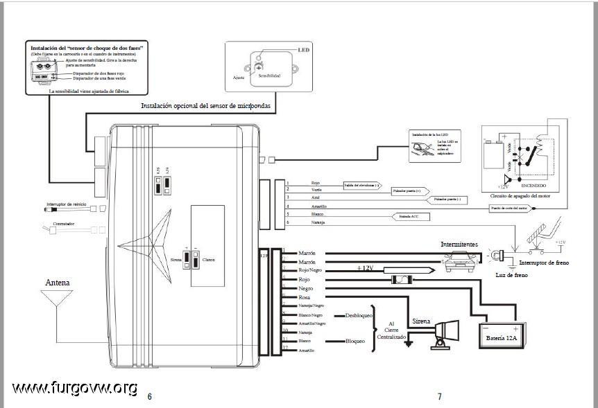 esquema el u00e9ctrico  dudas en la instalaci u00f3n de alarma spy