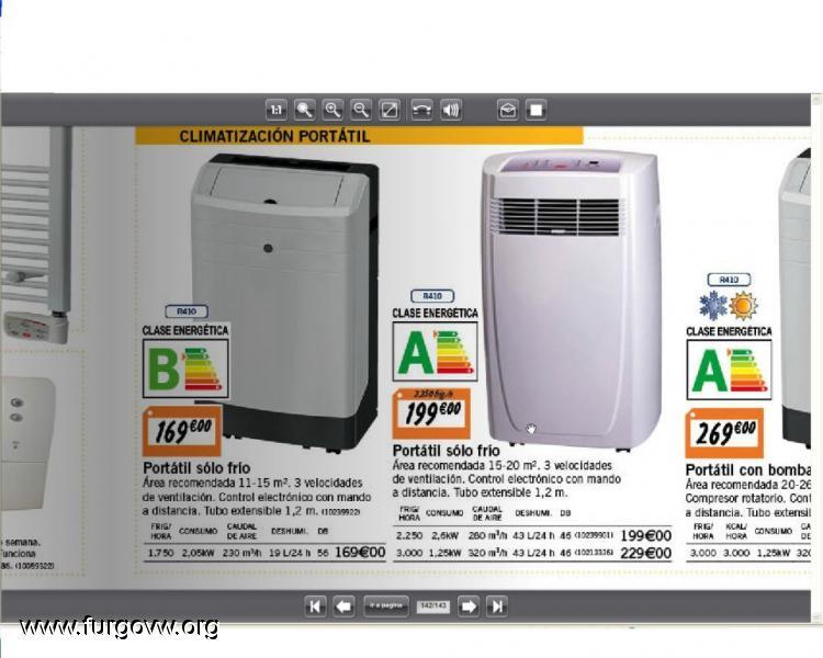 Mini aire acondicionado portatil de bajo coste for Aire acondicionado caravana barato
