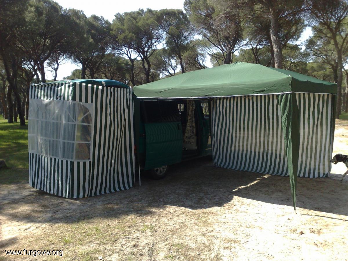 C c carpas p rgola de camping plegable envio nacional for Carpas jardin carrefour