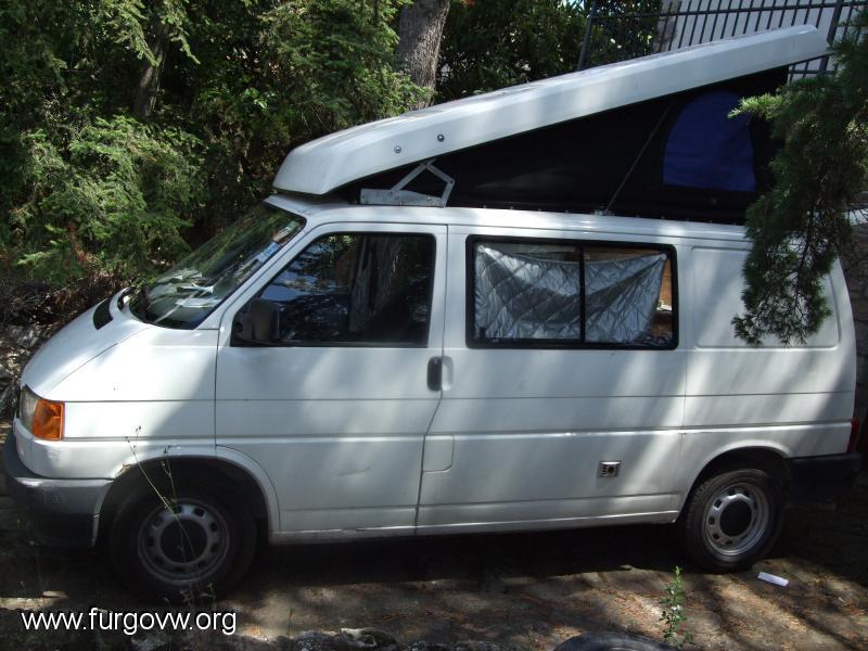Techo Elevable T4 Desguace >> [07000] VW T4 STANZA 2400. techo elevable , 7000 EUROS.