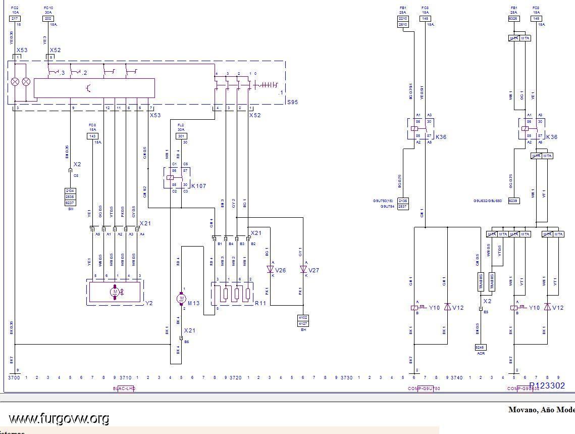 diagrama de aire acondicionado