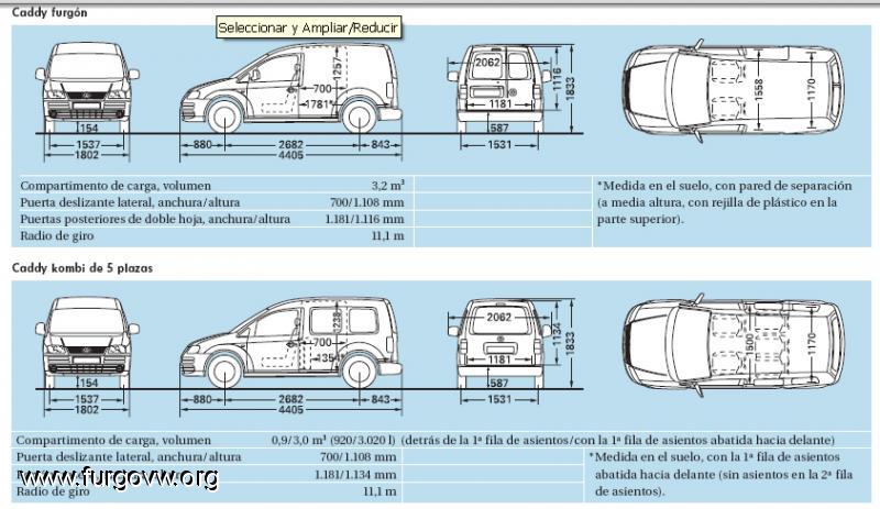 Galeria de fotos de furgonetas camper campervan picture gallery - Medidas interiores furgonetas ...