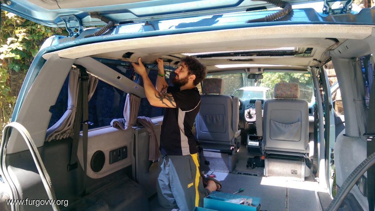 Instalaci 243 N Paso A Paso Techo Reimo En Una Vito Del 99
