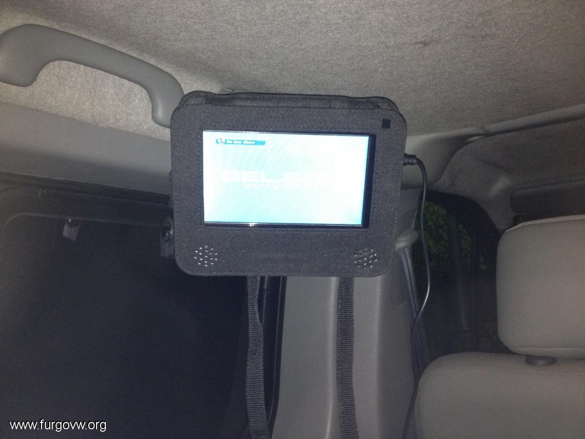 Fabricar soporte para tele vivaro trafic primastar for Soporte para tele