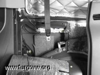 instalacion cinturon trasero