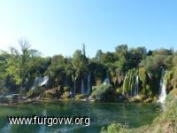 Cascadas Kravica. Bosnia-Herzegovina