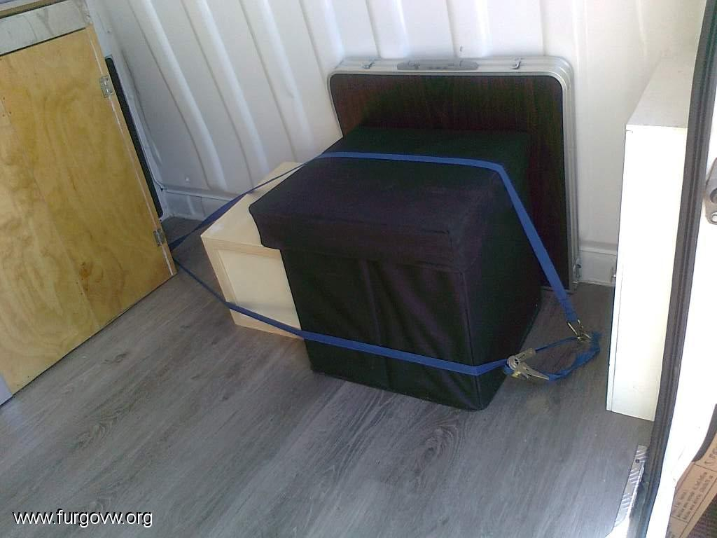 Alternativas Para Anclajes En Muebles Furgoneta Sin Homologar Ayuda  # Sujetar Muebles Furgoneta
