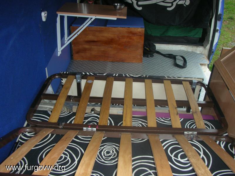 Sofa/cama (vw t4 1.9 td furgon)