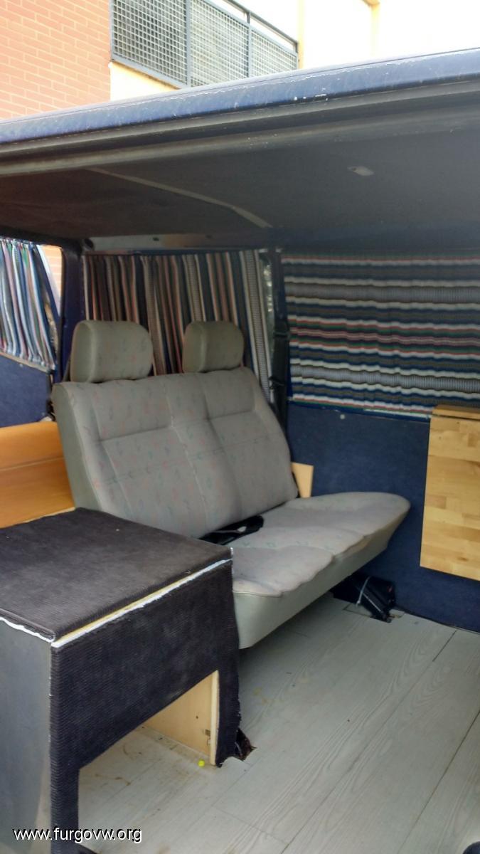 ReMi furgo con mi mueble cama [VW T4]