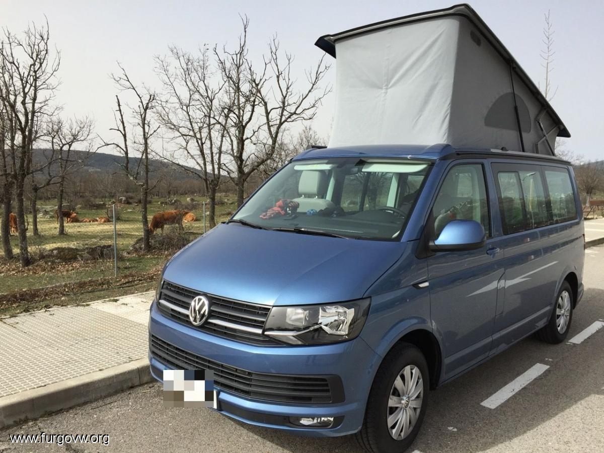 vw t6 california beach acapulco blue 150cv. Black Bedroom Furniture Sets. Home Design Ideas