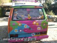 HIPPY VAN HIPPIE BUS VW