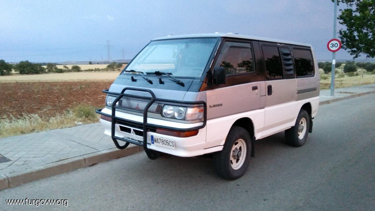 Vendida  07900  Mitsubishi L300 4x4