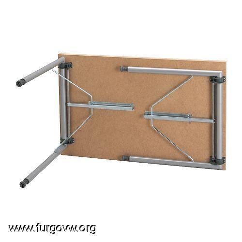 Mesa sencilla y barata brico - Patas plegables para mesas ...