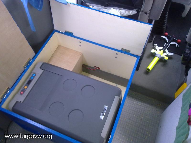 Vw t4 multivan 102cv 39 98 leds en la luz del comedor - Mueble para nevera ...
